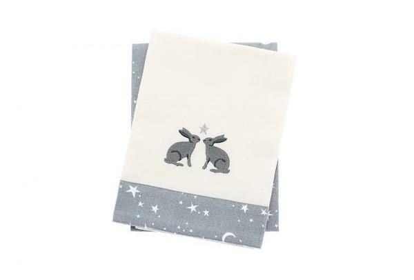 Twilight Hare Tea Towel Set