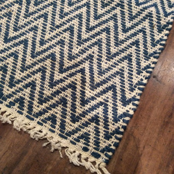 Striped Jute Rug Shoeless Joe