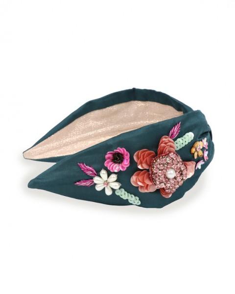 Embroidered Headband
