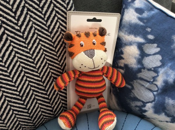 Tiger Rattle Tiggy