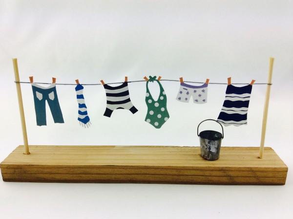 Drying Clothes Shoeless Joe