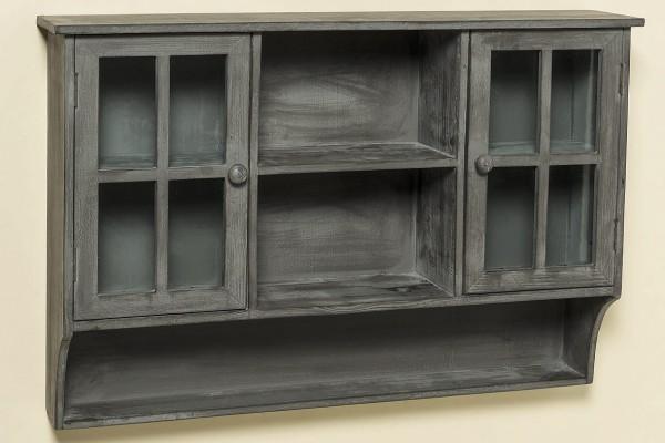 Elegant Glass Door Kitchen Wall Cabinets