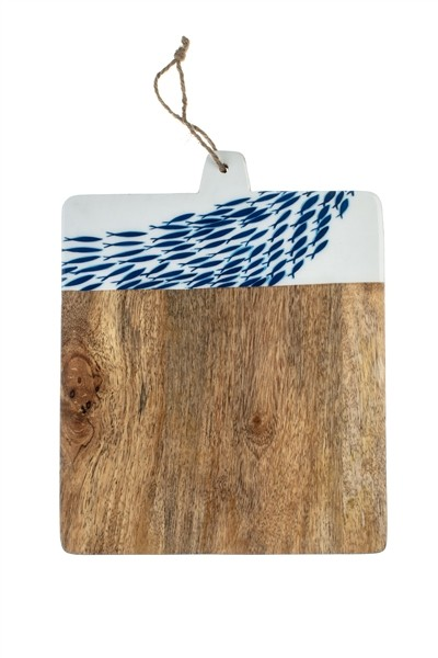 Fish Swarm Chopping Board