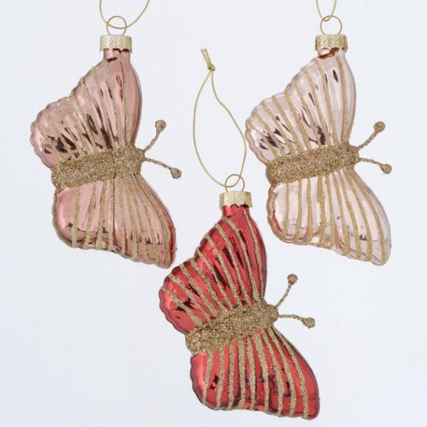 Glass Butterfly Hanger