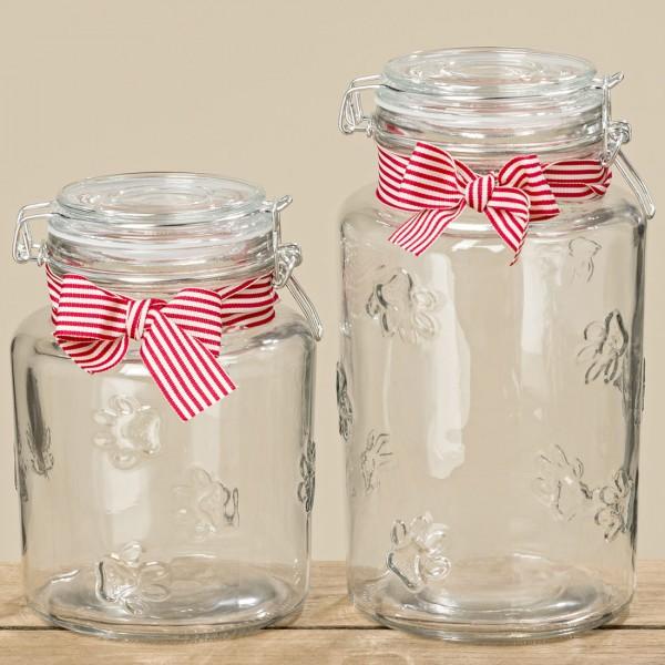 Paw Print Kilner Jar