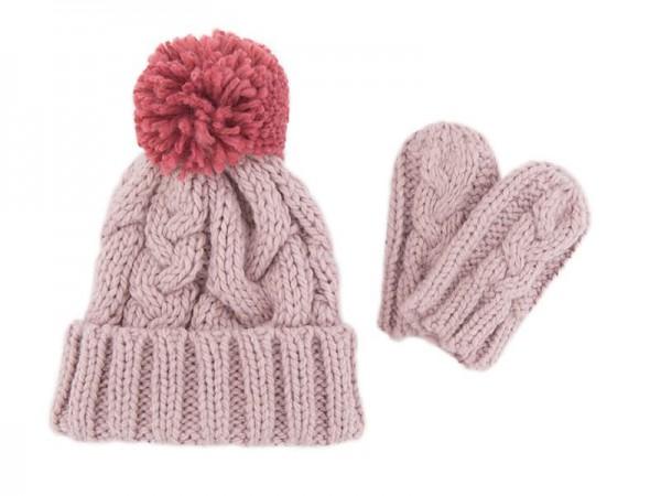 Hat & Mitten Set