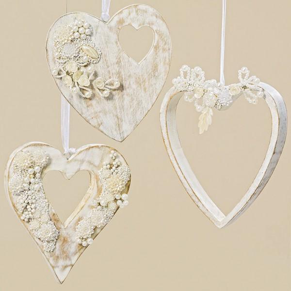 Shabby Chic Heart Hanger