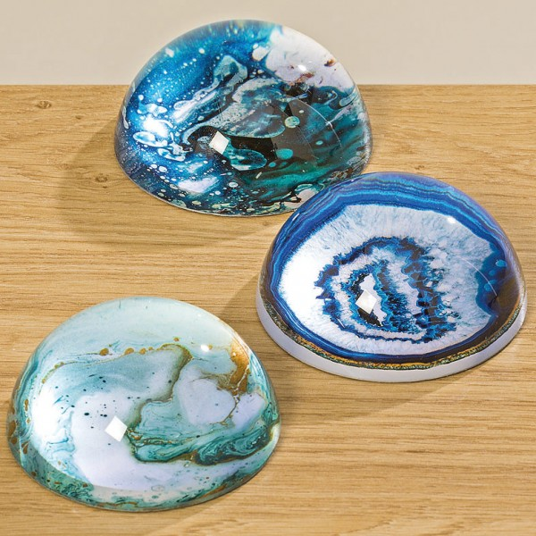 Dome Glass Paper Weight