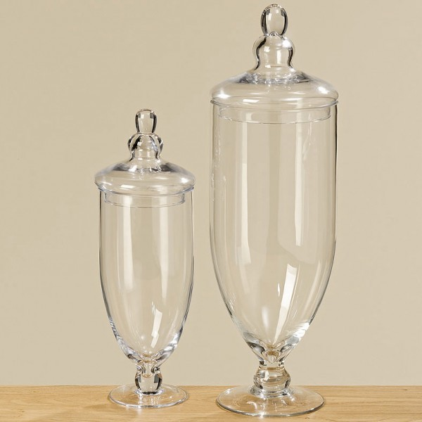 Apothecary Glass Jar