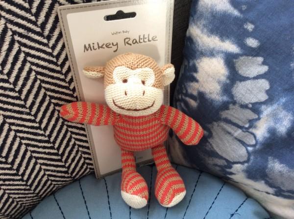 Monkey Rattle Mikey