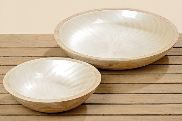 Mango Wood Deco Bowl