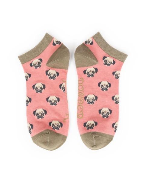 Powder Design Pug Trainer Sock