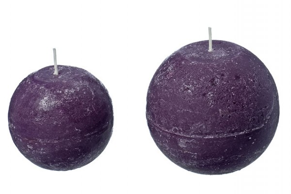 Rustic Ball Candle