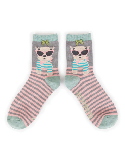 Westie Ankle Socks