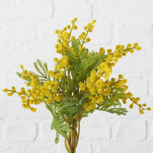 Faux Mimosa Bunch