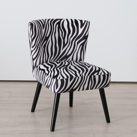 Zebra Cocktail Chair