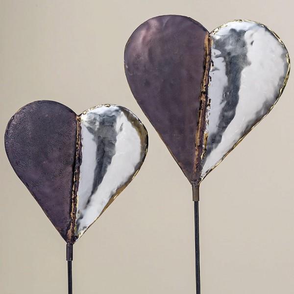 Heart Garden Stick