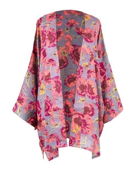 Poppy Print Jacket
