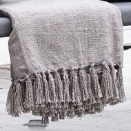 Broste Copenhagen Grey Throw
