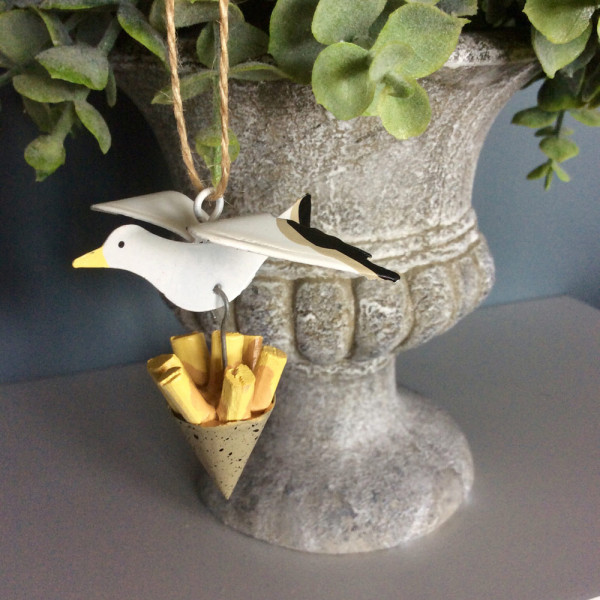 Seagull and Chips Hanger