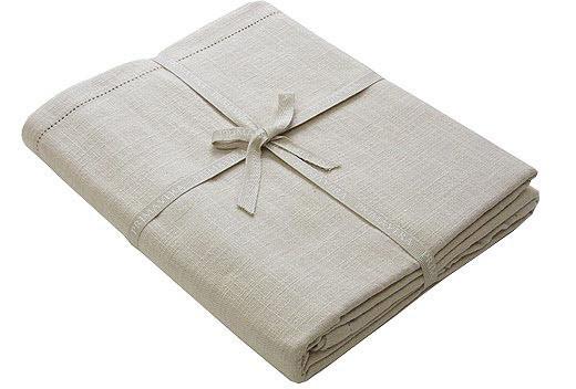 Linen Look Tablecloth