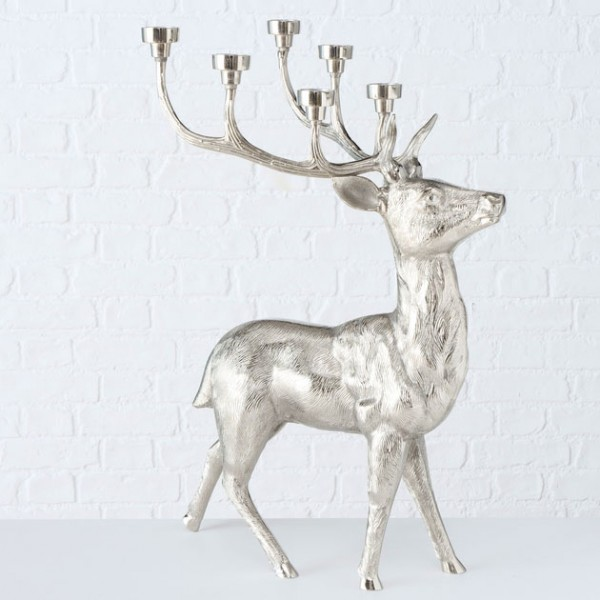 Floor Stag Candle Holder