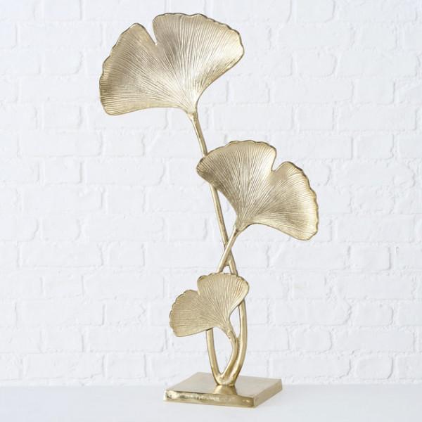 Gold Gingko Leaf Object