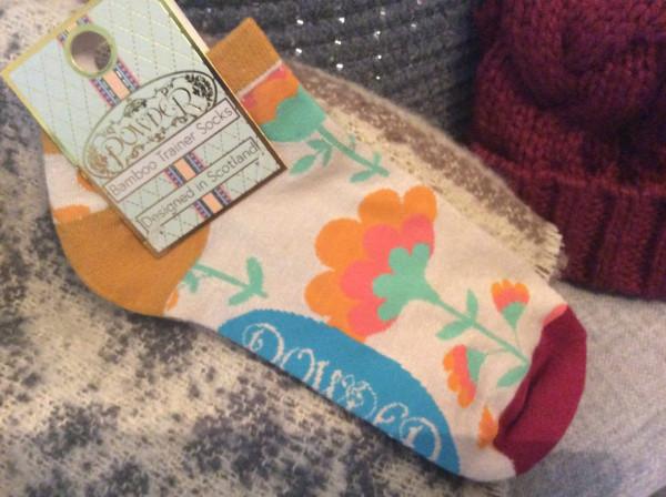 Powder Design Trainer Sock