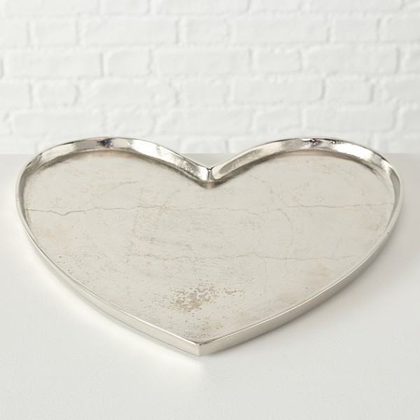 Cupid Siver Heart Tray