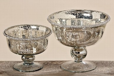 Mercury Glass Bowl