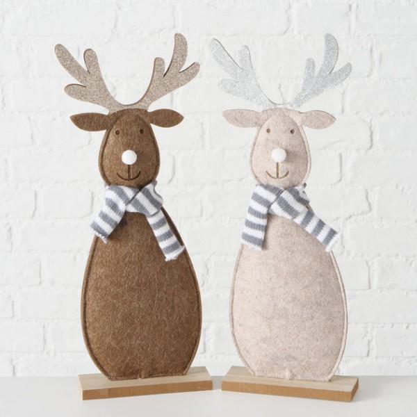 Rustic Felt Reindeer