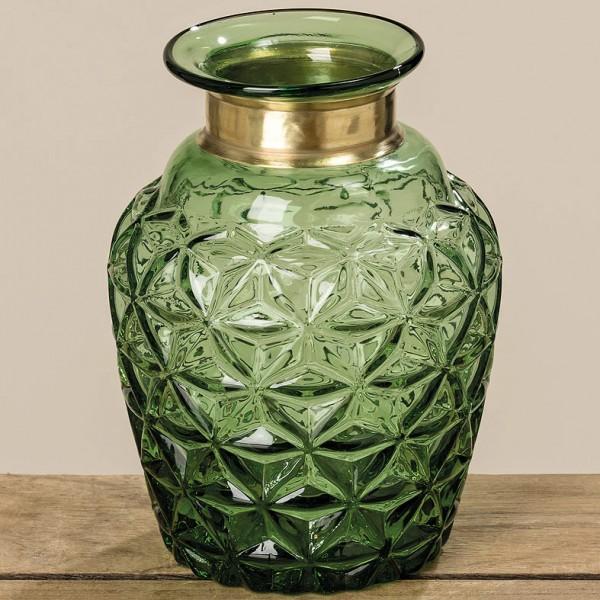 Emerald Glass Vase