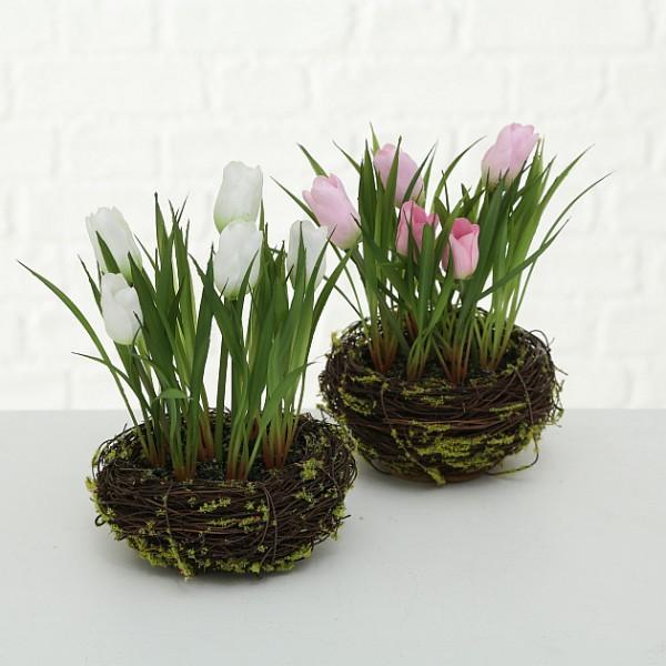 Faux Tulip Nest