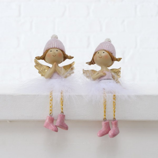 Pair of Fairy Shelf Sitters