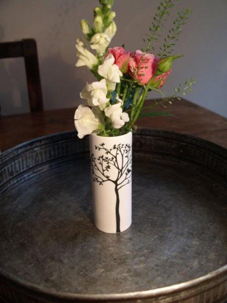 Woodland Cylinder Vase