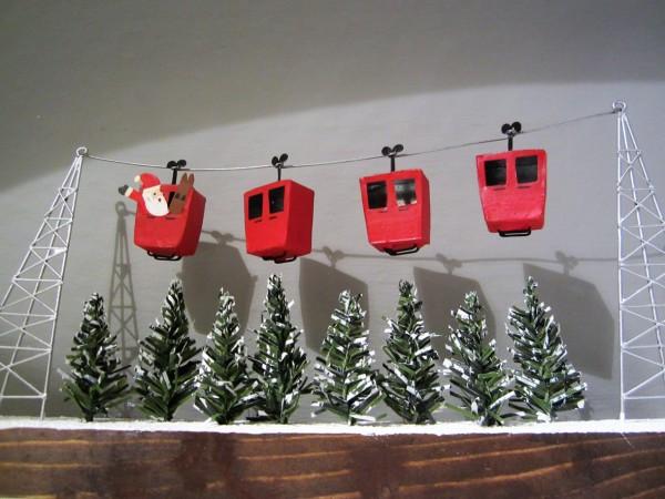 Santas Alpine Cable Car