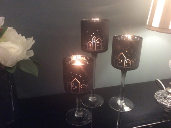 Nordic Homes Candle Glasses