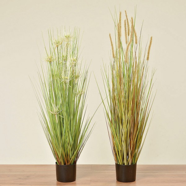 Tall Faux Grass
