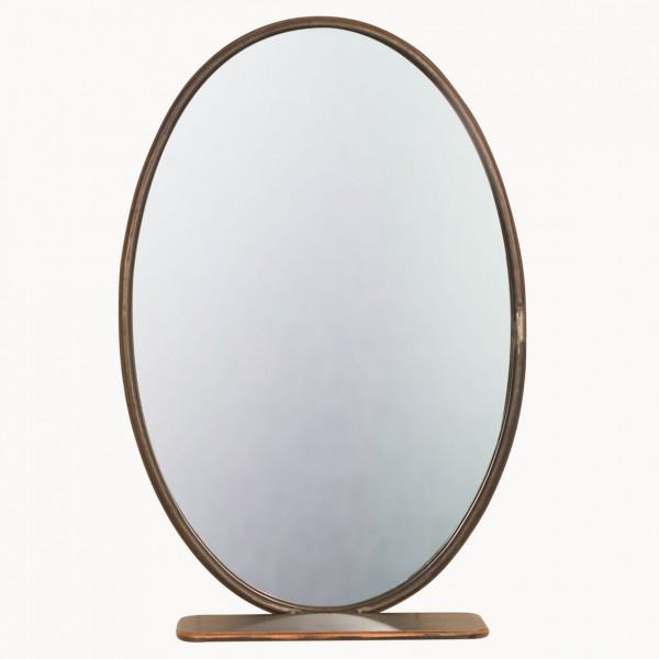 Granville Oval Shelf Mirror