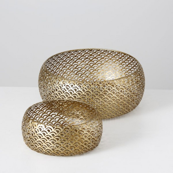 Matt Gold Deco Bowl
