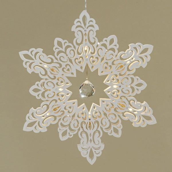 LED Snowflake Hanger