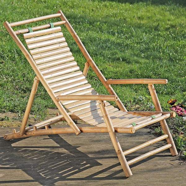 Bamboo Deck Chair