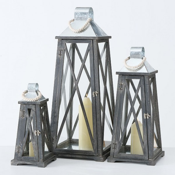 Rustic Conical Lantern