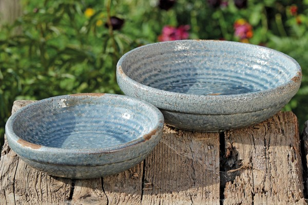 Blue Terracotta Bowl