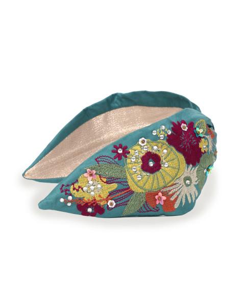 Powder Design Floral Headband